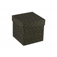 Коробка крышка-дно с тиснением фольгой