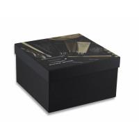 Коробка крышка-дно с матовой ламинацией