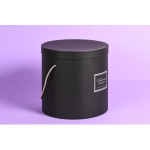 Шляпная коробка с ручкой
