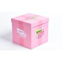 Подарочная коробка крышка-дно с полноцветной печатью