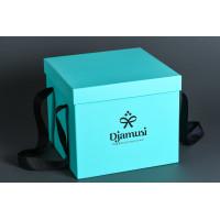 Коробка крышка-дно в стиле Tiffany