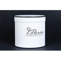 Шляпная коробка с дизайнерской бумагой