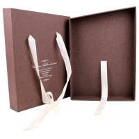 Коробка-пенал с тиснением фольгой