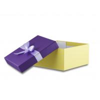 Коробка крышка-дно с лентой