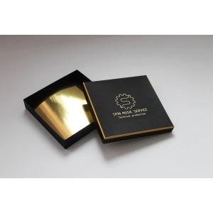 Крышка-дно для конфет с золотым вкладышем