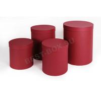 Подарочный набор тубусов (бордовый)
