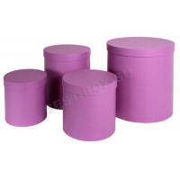 Подарочный набор тубусов (фиолетовый)