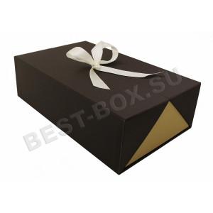 Коробка шкатулка с лентой