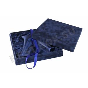 Подарочная коробка из флока
