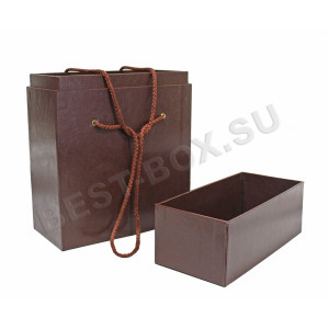 Коробка - портфель со вставкой