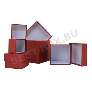 Набор квадратных коробок
