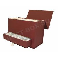 Коробка на магнитном клапане с ящиком