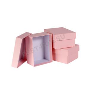 Прямоугольная коробка крышка-дно