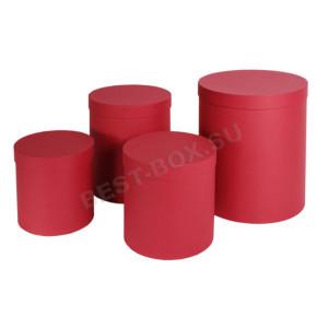 Подарочный набор тубусов (красный)