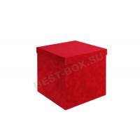 Коробка бархатный куб