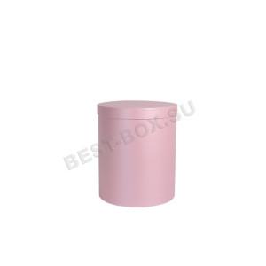Шляпная коробка розовая