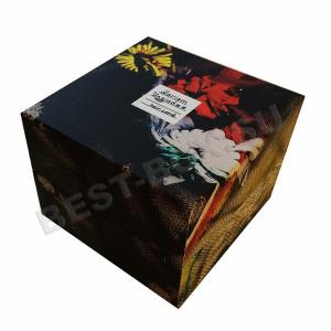 Коробка крышка-дно с печатью рисунка