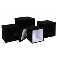 Набор коробок черный куб
