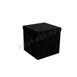 Куб (черный бархат)