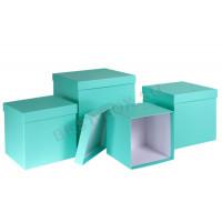 Набор подарочных коробок тиффани